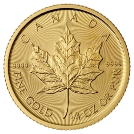 1/4 Unze Maple Leaf Goldmünze (CAN 2018)