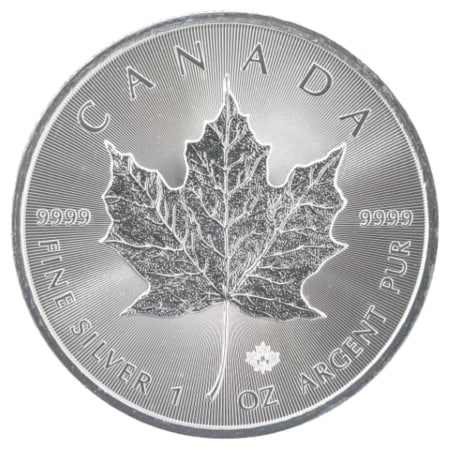 1 Unze Maple Leaf Silbermünze (CAN 2018)