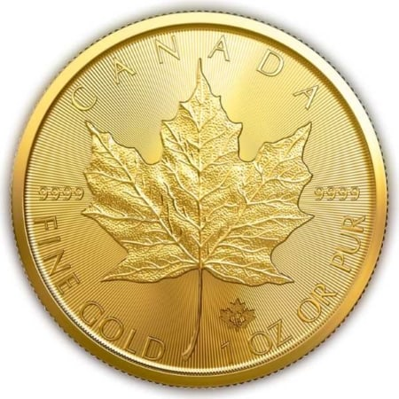 1 Unze Maple Leaf Goldmünze (CAN 2019)