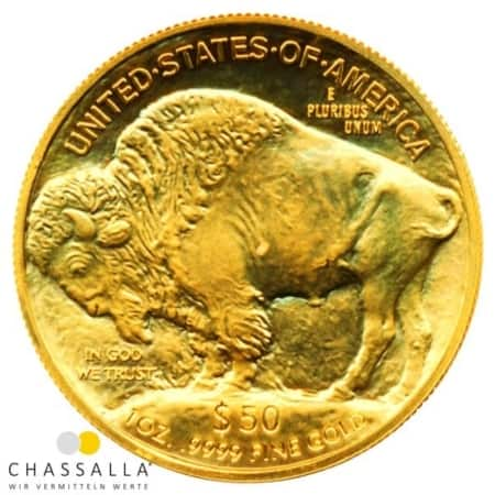1 Unze American Buffalo Goldmünze (USA 2015)