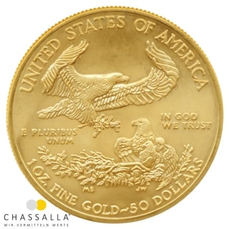 1 Unze American Eagle Gold
