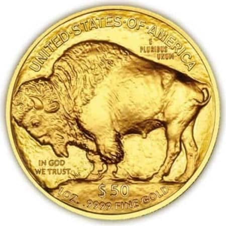1 Unze American Buffalo Goldmünze (USA 2019)