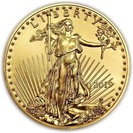 1 Unze American Eagle Goldmünze (USA 2019)
